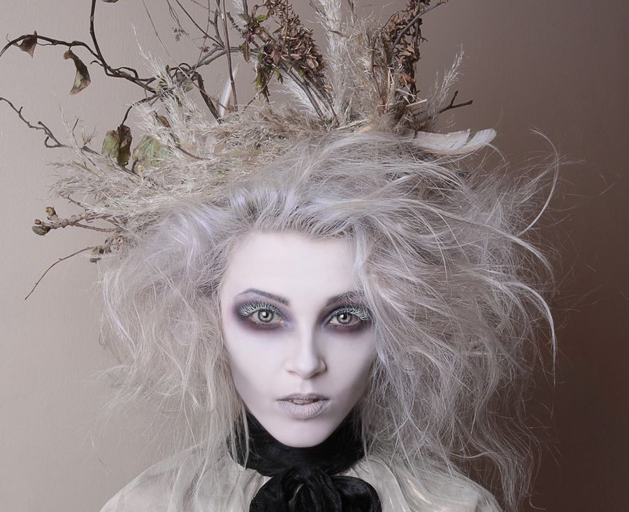 Perfect White Hair For The Best Halloween Options Due North Alaska
